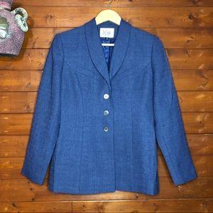 Le Suit Vintage Blazer & Pant Set Size 4P